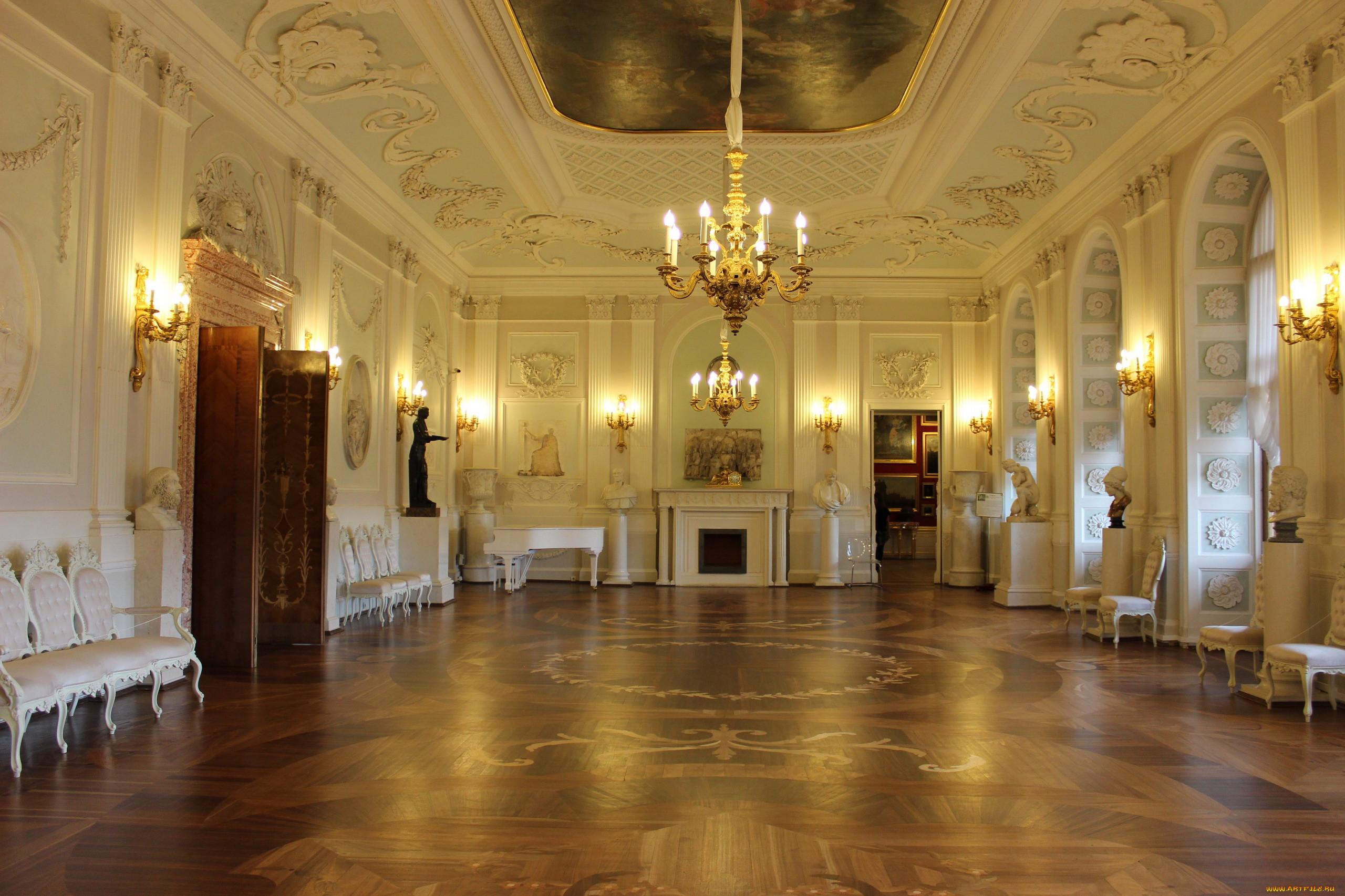 интерьер, дворцы,  музеи, дворцовый, зал